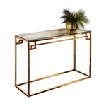 Load image into Gallery viewer, Cesar Gold Console Table