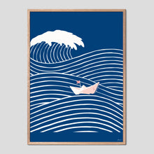 Load image into Gallery viewer, Brave Little Boat Graphic Poster