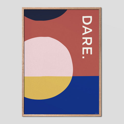 DARE - Abstract Type Poster