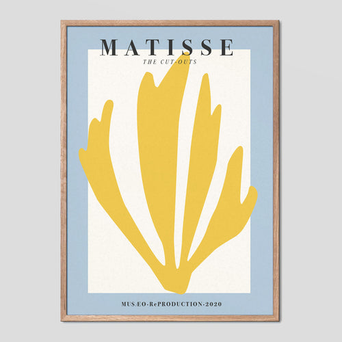 Matisse The Cut Outs Vintage Exhibition Poster No.01
