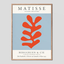 Load image into Gallery viewer, Matisse Berggruen & Cie Vintage Exhibition Poster - Red