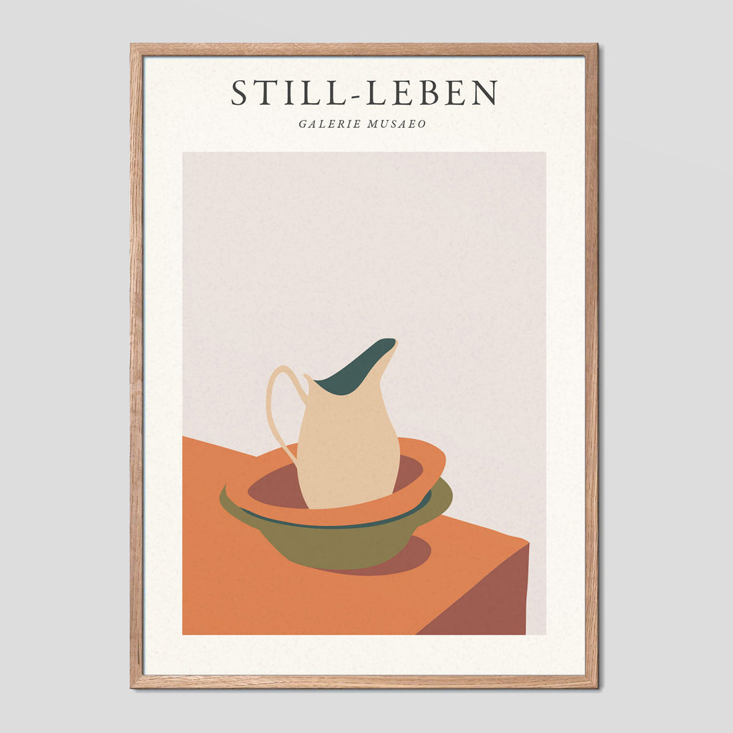 Stilleben Vintage Exhibition Poster