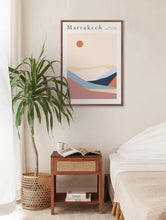 Load image into Gallery viewer, Marrakech Desert Hills Vintage Poster