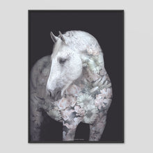 Load image into Gallery viewer, Andalusian Horse - Faunascapes Flower Portrait