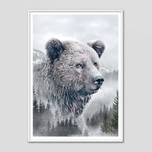 Load image into Gallery viewer, Brown Bear - Faunascapes Nordic Portrait