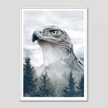 Load image into Gallery viewer, Caucasian Eagle - Faunascapes Nordic Portrait