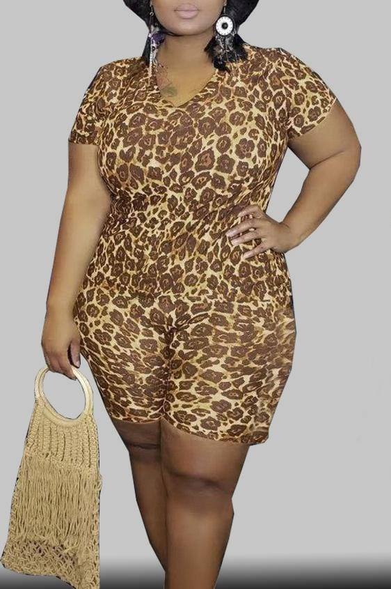 Leisure Sexy Leopard Print Sets