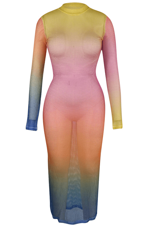 See-Through Ankle Length Dress(Without Underwear) - VogueRegion