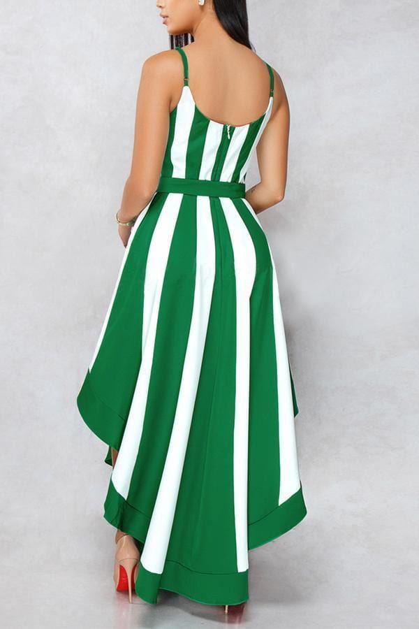 Striped Dress - VogueRegion