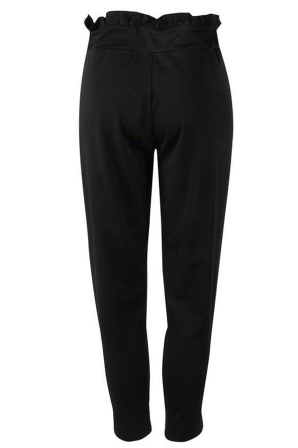 VogueRegion Casual Buttons Decorative Pants - VogueRegion