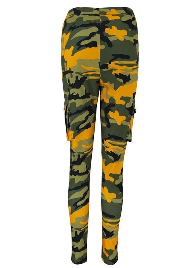 Leisure Camouflage Printed Pants
