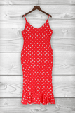 Sweet Dots Printed Dress - VogueRegion
