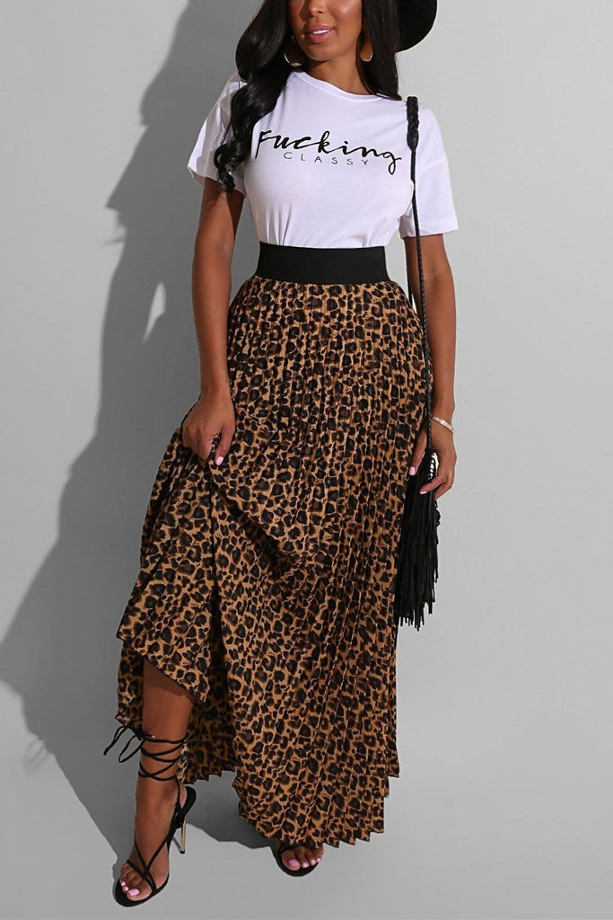 Fashion Casual Print Two-piece
