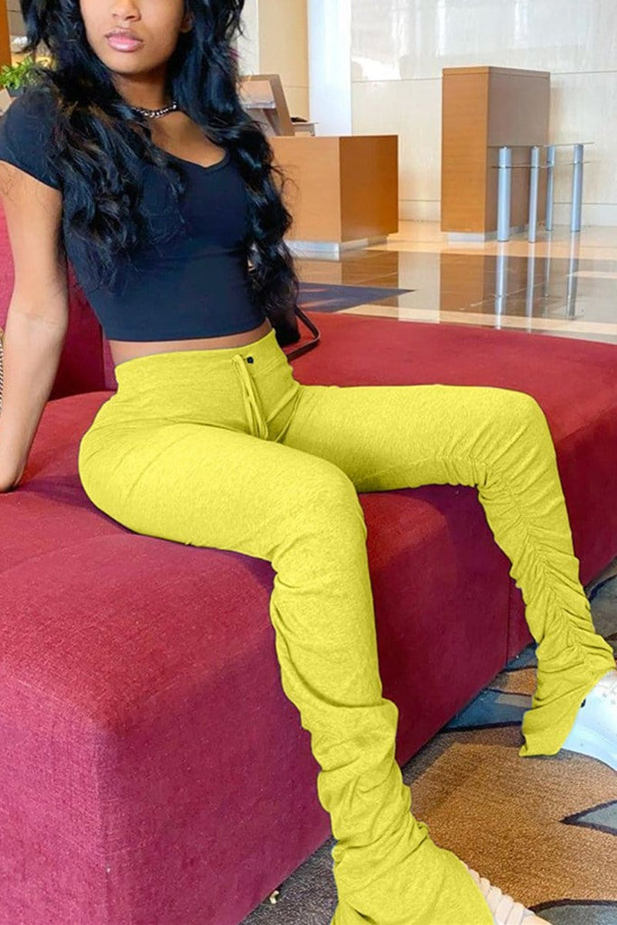 🔥Fashion Solid Color Track Pants