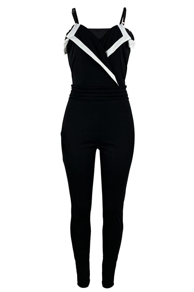 Fashion Sexy Off Shoulder Jumpsuit