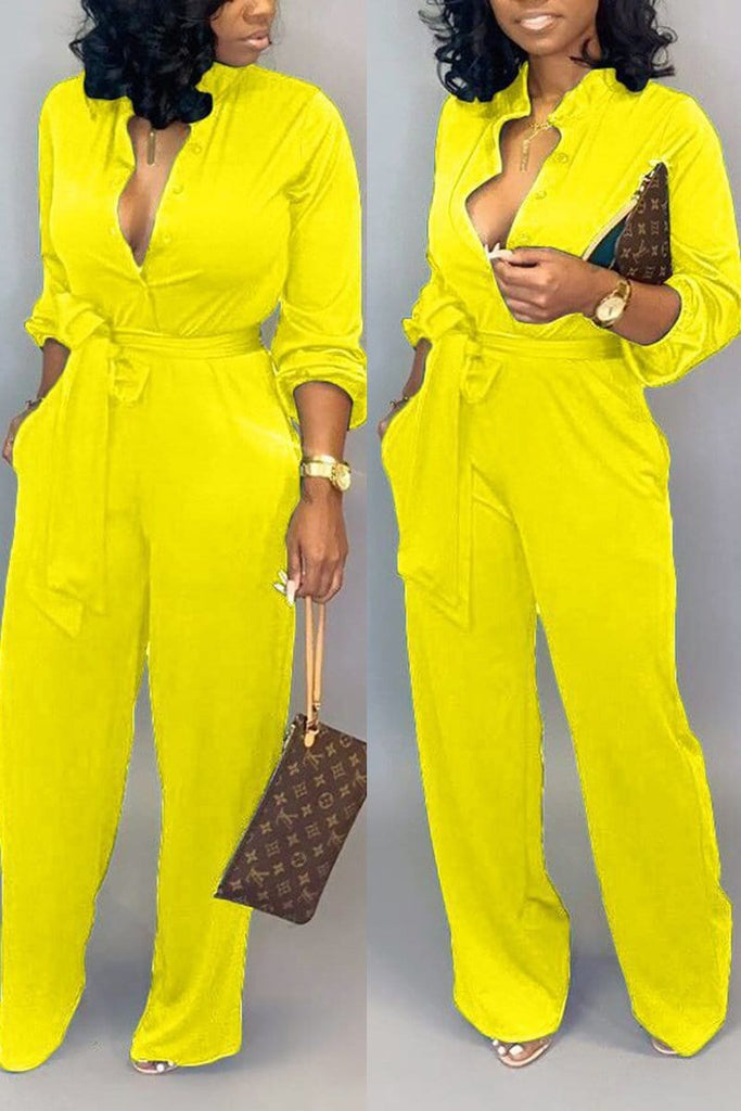 Fashion Sexy Print Tooling Jumpsuit