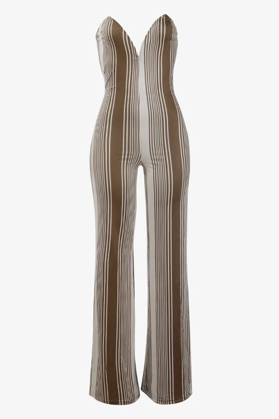 Sexy Strapless Jumpsuit(Without Belt)