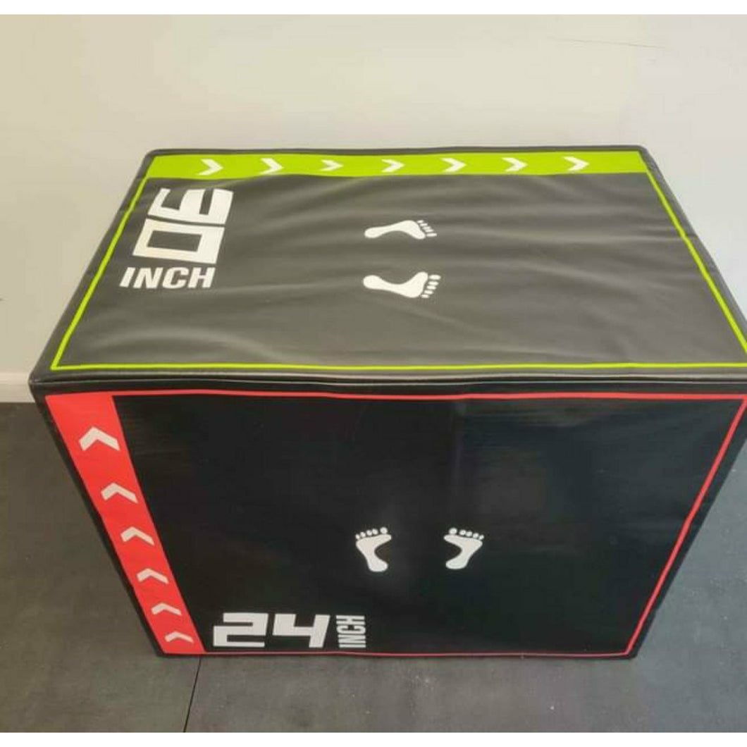ISF Soft PlyoBox - 3-in-1 - 15 lb