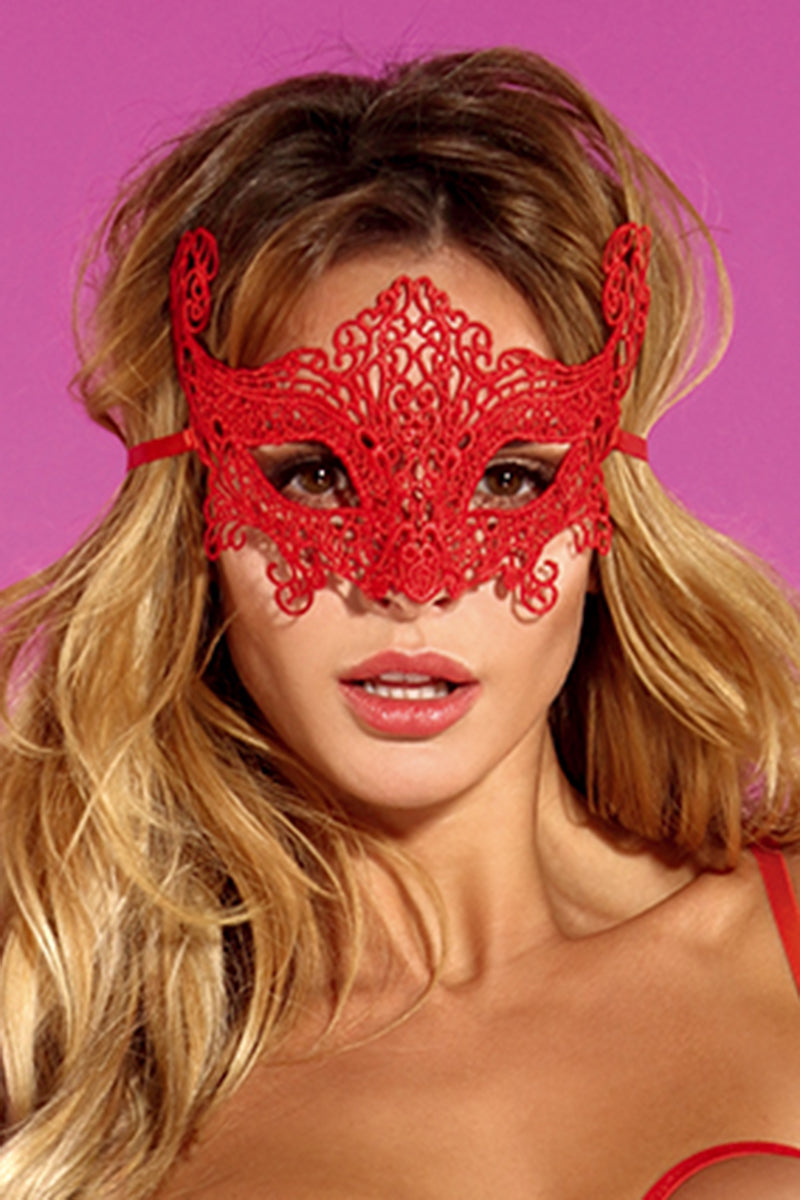 Seductress Red Mask