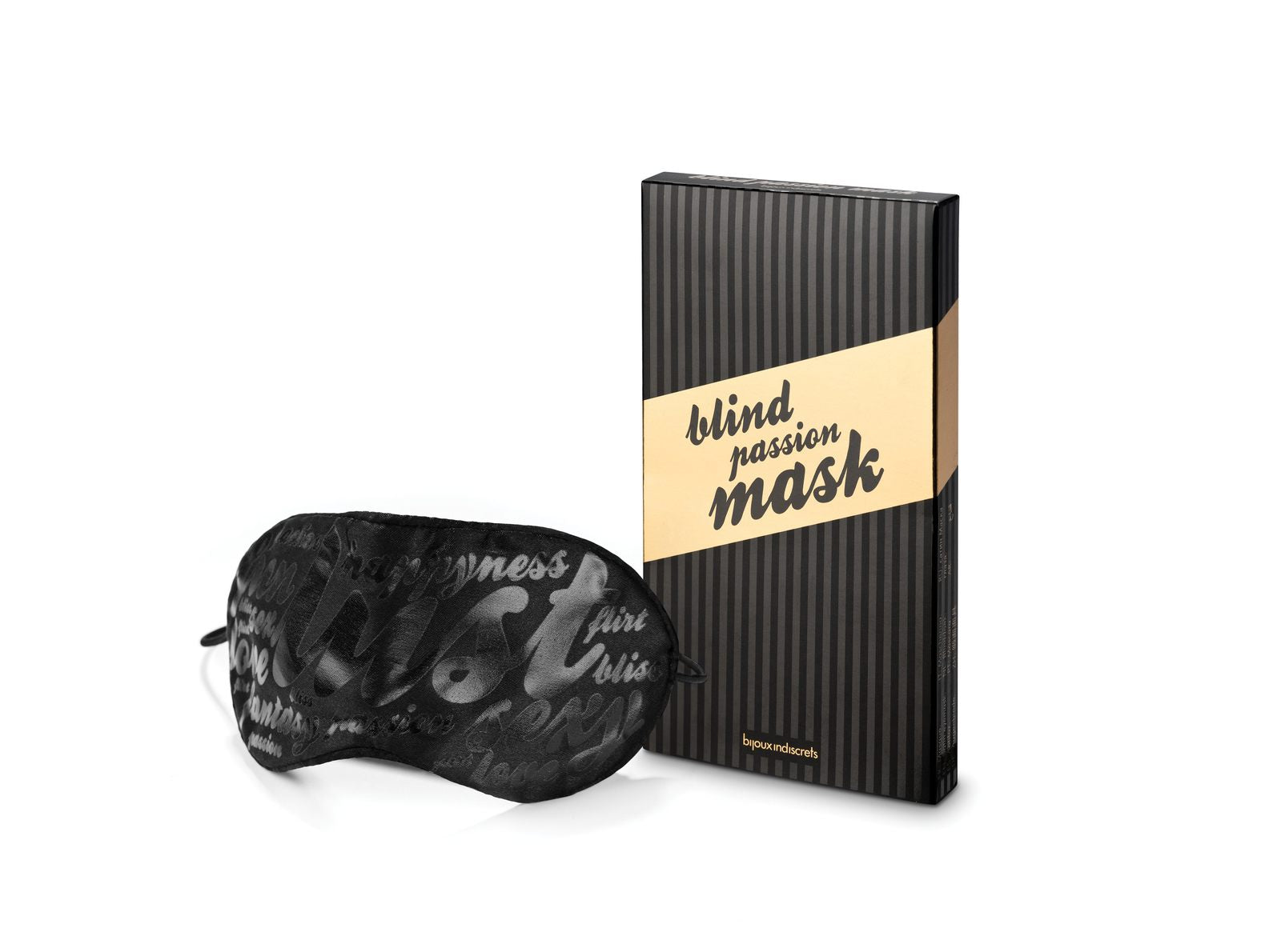 la-vie-sexuelle - Blind passion mask for foreplay - Bijoux Indiscrets - mask