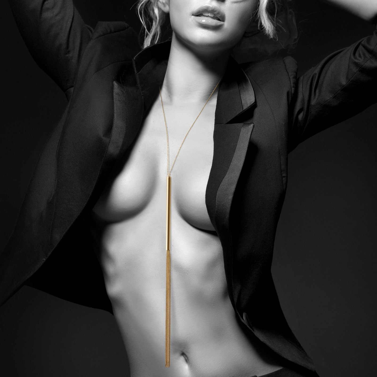 la-vie-sexuelle - Magnifique gold whip necklace | Bijoux Indiscrets | Adult sex toy | S & M - Bijoux Indiscrets - adult toy