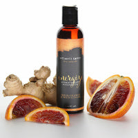 la-vie-sexuelle - Energize | Intimate earth | Aromatherapy massage oil | Orange and ginger - INTIMATE EARTH - massage oil