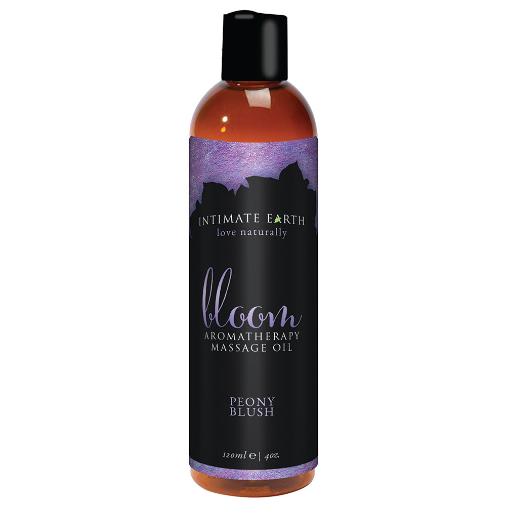 la-vie-sexuelle - Bloom aromatherapy massage oil - INTIMATE EARTH - lubrication