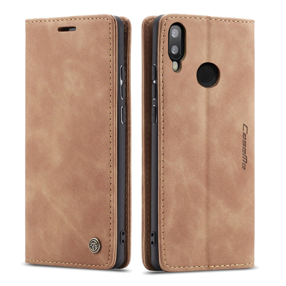 CaseMe Original Leather Wallet Case For Huawei 10lite/P smart 2019