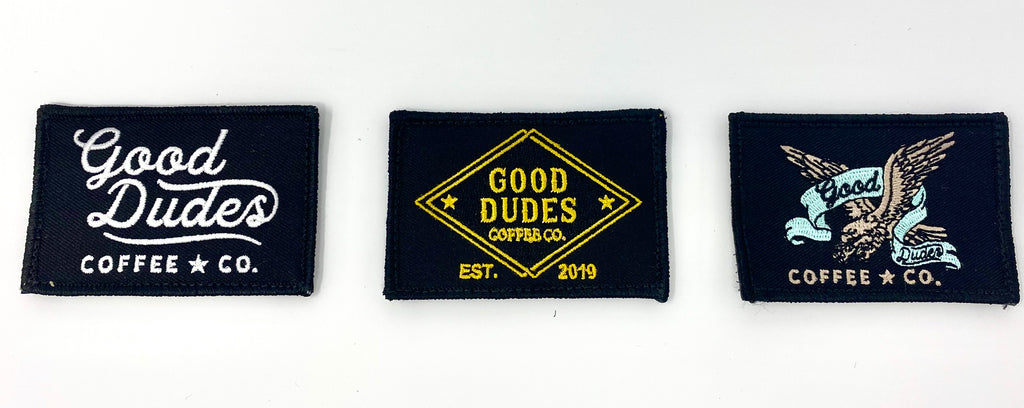 The Good Dudes Patch 3-Pack