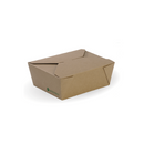 Biopak Paper Lunch Boxes BioBoard Lunch Box - All Sizes