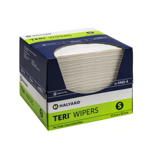 Halyard Teri Wipers 75 Pack