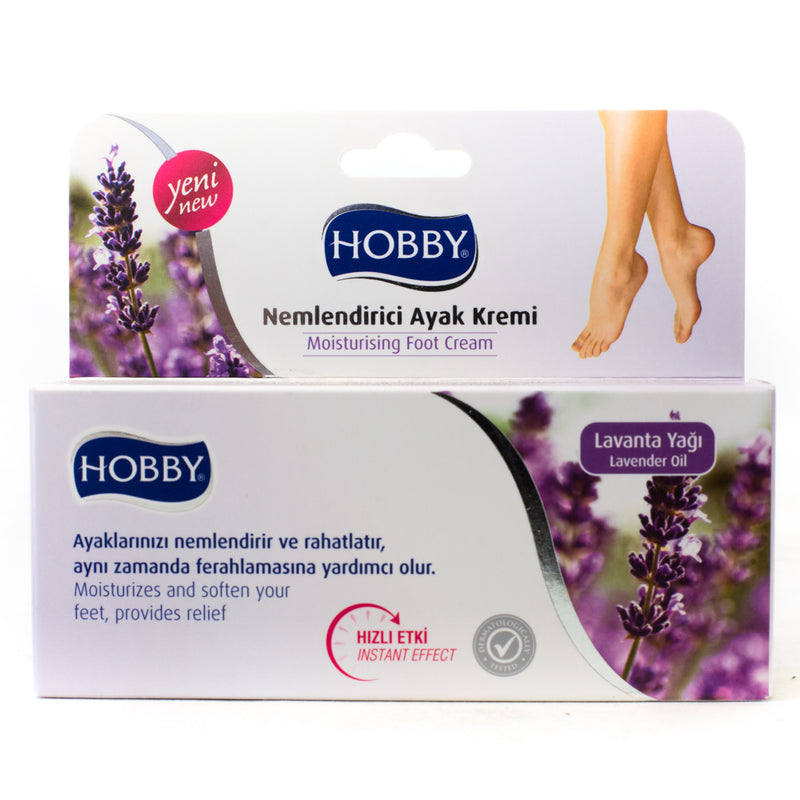 2 x Hobby Moisturising Foot Cream Lavender 60mL CLEARANCE LINE
