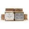 Goat Milk & Donkey Milk Soap Bar With Wooden Soap Deck