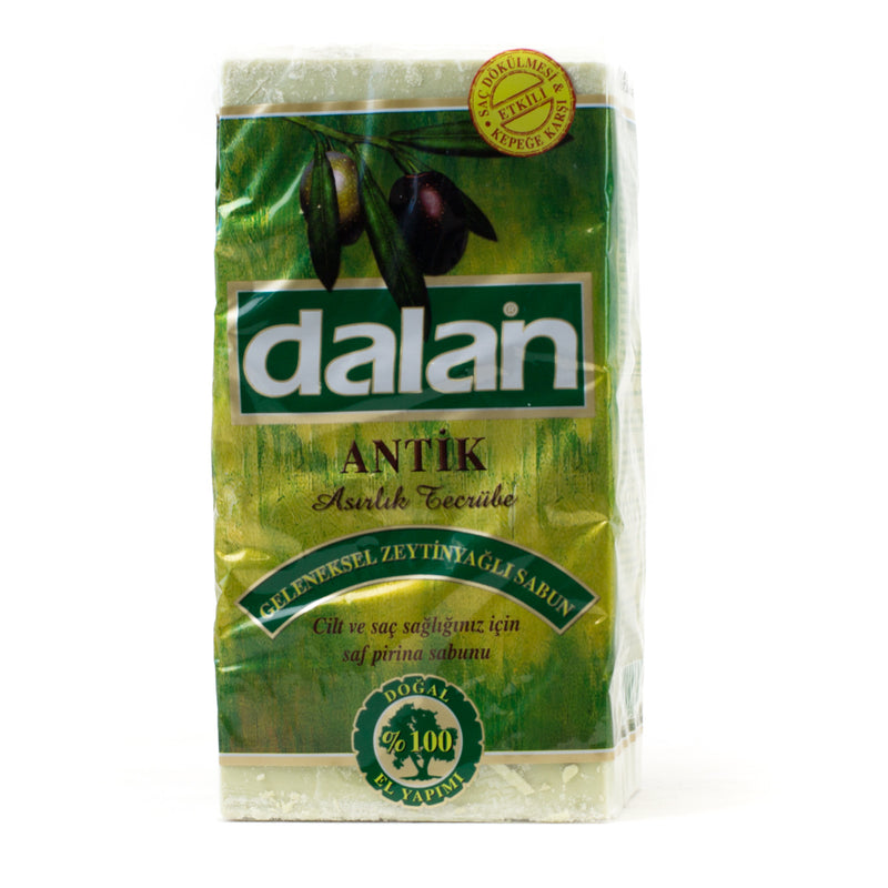 Dalan Antique Turkish Traditional Olive Oil Soap 5 Pack