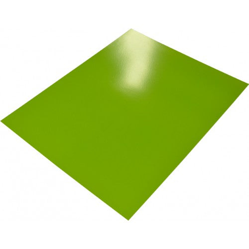 Rainbow poster Board 400gsm 510mm X 640mm 10 Sheets Lime