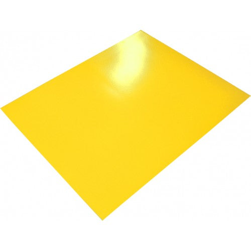 Rainbow poster Board 400gsm 510mm X 640mm 10 Sheets Yellow.