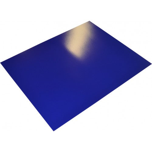 Rainbow poster Board 400gsm 510mm X 640mm 10 Sheets Royal Blue.