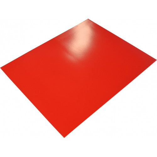 Rainbow poster Board 400gsm 510mm X 640mm 10 Sheets Royal Red.
