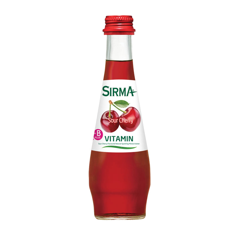Sirma Mineral Drink (Sour Cherry) 250mL x 24