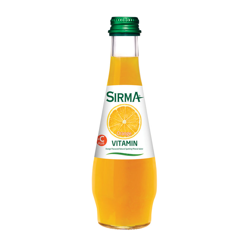 Sirma Mineral Drink (Orange) 250mL x 24
