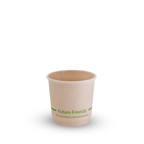 Double Wall Hot Cup With PLA Lining - 4oz - 500 Pack