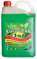 EUCOCLEAN Anti-Bacterial Cleaner 3-in-1 Surface Spray Refill 5LT