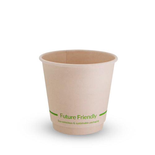 Double Wall Hot Cup With PLA Lining - 8oz - 500 Pack