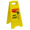 Wet Paint Caution Sign Yellow