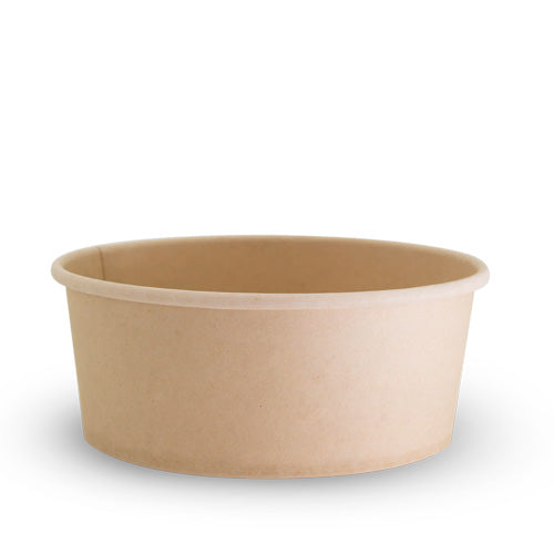 24oz Bamboo Bowl - PLA Lining - 24oz  - 200 Pack