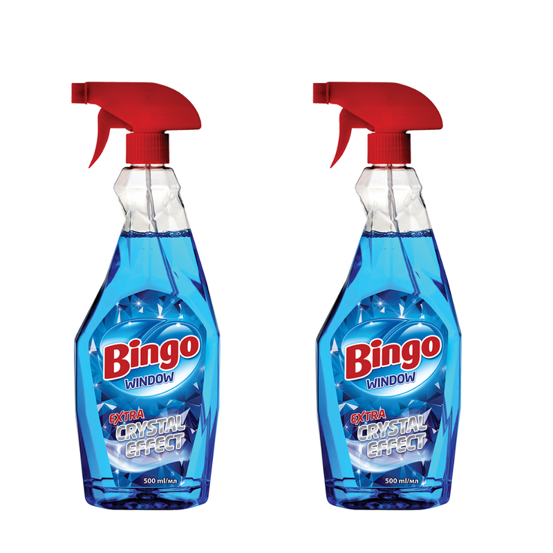 2 x Bingo Window Crystal Effect 500mL
