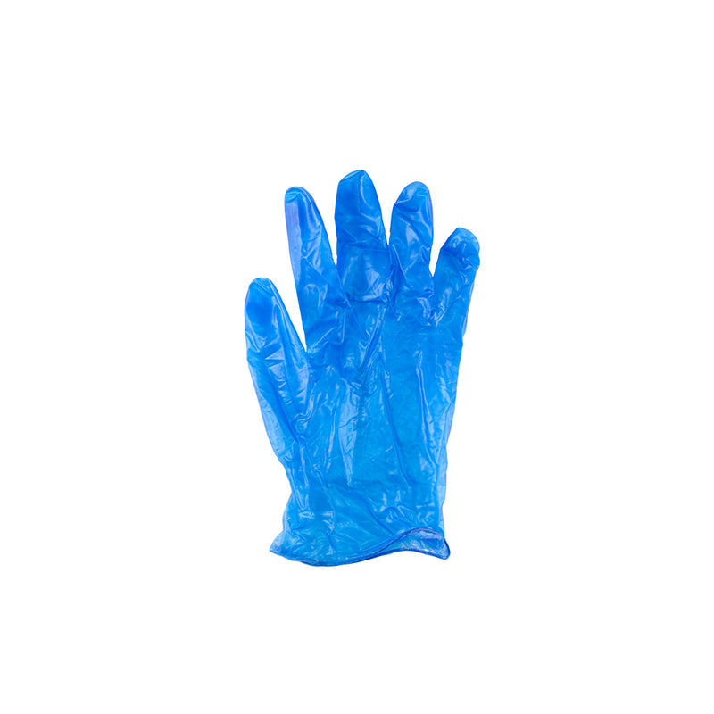 Capri Vinyl Powder Free (Clear & Blue) Glove S, M, L, XL