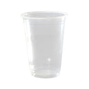 Capri Plastic Drinking Cups Clear 425ml