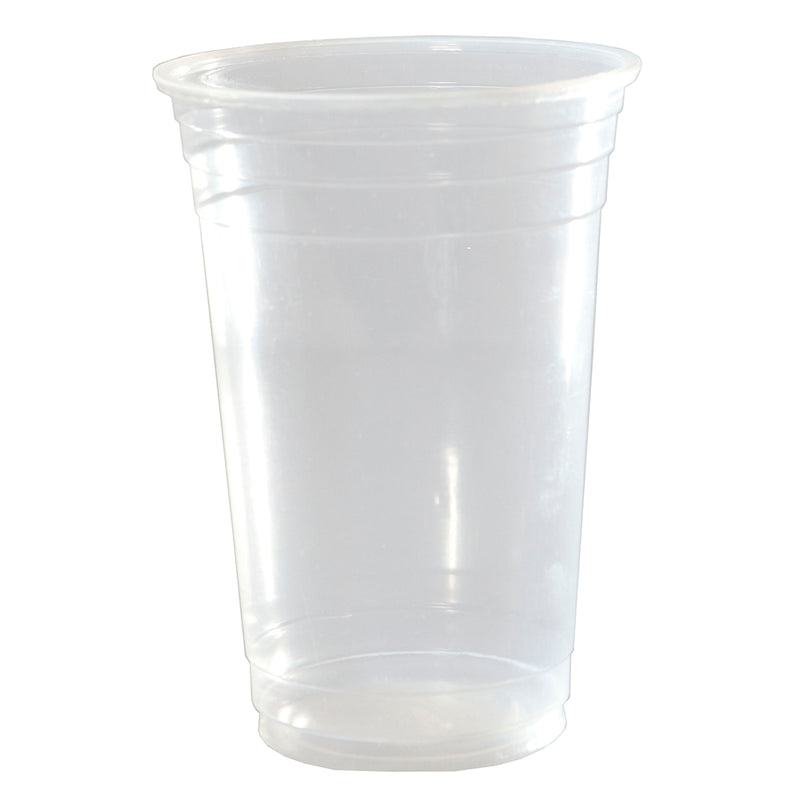Capri Plastic Drinking Cups Clear 540ml