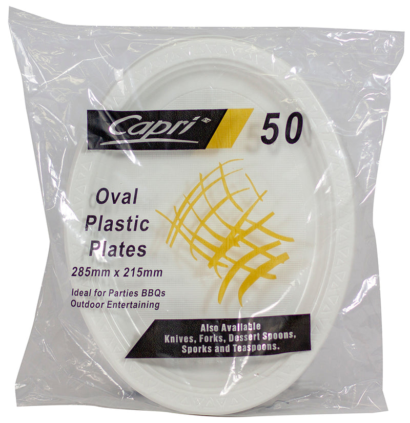 Capri Plastic Oval 285 x 215mm